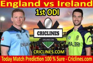 Today Match Prediction-England vs Ireland-1st ODI 2020-Who Will Win