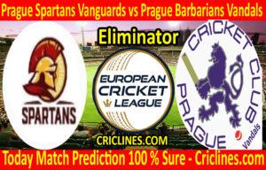 Today Match Prediction-Prague Spartans Vanguards vs Prague Barbarians Vandals-ECN T10 League-Eliminator-Who Will Win