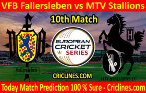Today Match Prediction-VFB Fallersleben vs MTV Stallions-ECS T10 St. Gallen-10th Match-Who Will Win