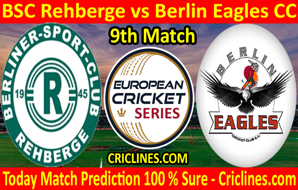 Today Match Prediction-BSC Rehberge vs Berlin Eagles CC-ECS T10 Dresden Series-9th Match-Who Will Win