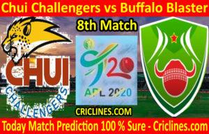 Today Match Prediction-Chui Challengers vs Buffalo Blaster-Tanzania APL T20-8th Match-Who Will Win
