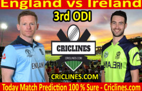 Today Match Prediction-England vs Ireland-3rd ODI 2020-Who Will Win