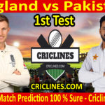 Today Match Prediction-England vs Pakistan-1st Test 2020-Who Will Win