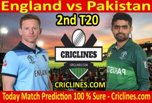 Today Match Prediction-England vs Pakistan-2nd T20 2020-Who Will Win