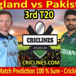 Today Match Prediction-England vs Pakistan-3rd T20 2020-Who Will Win