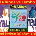 Today Match Prediction-Royal Rhinos vs Tembo Stars-Tanzania APL T20-9th Match-Who Will Win
