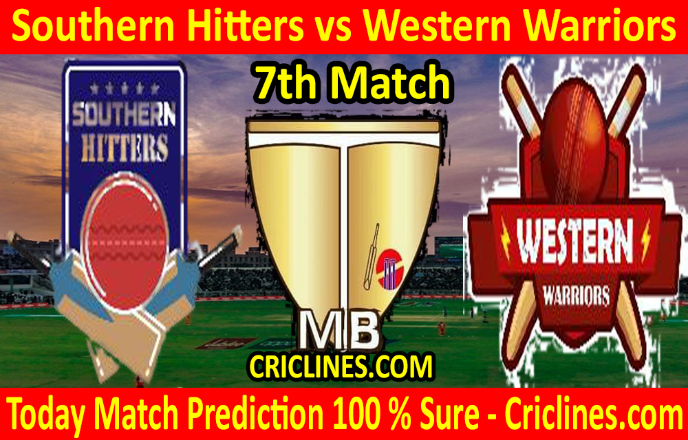 Today Match Prediction-Southern Hitters vs Western Warriors-Malaysian T10 Bash-7th Match-Who Will Win