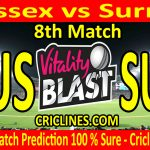 Today Match Prediction-Sussex vs Surrey-Vitality T20 Blast 2020-8th Match-Who Will Win