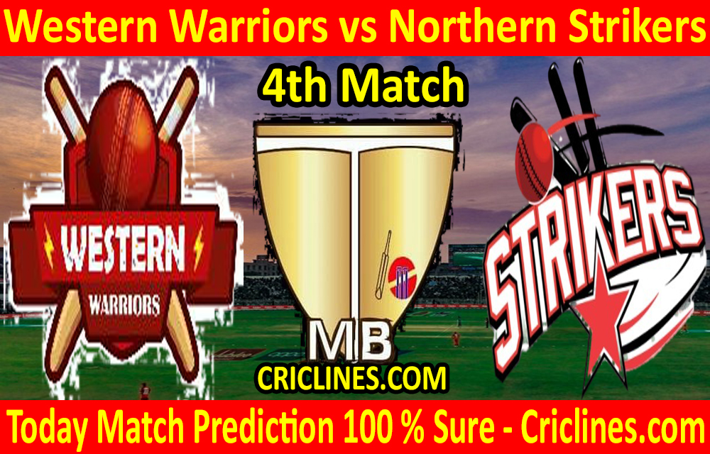 Today Match Prediction-Western Warriors vs Northern Strikers-Malaysian T10 Bash-4th Match-Who Will Win