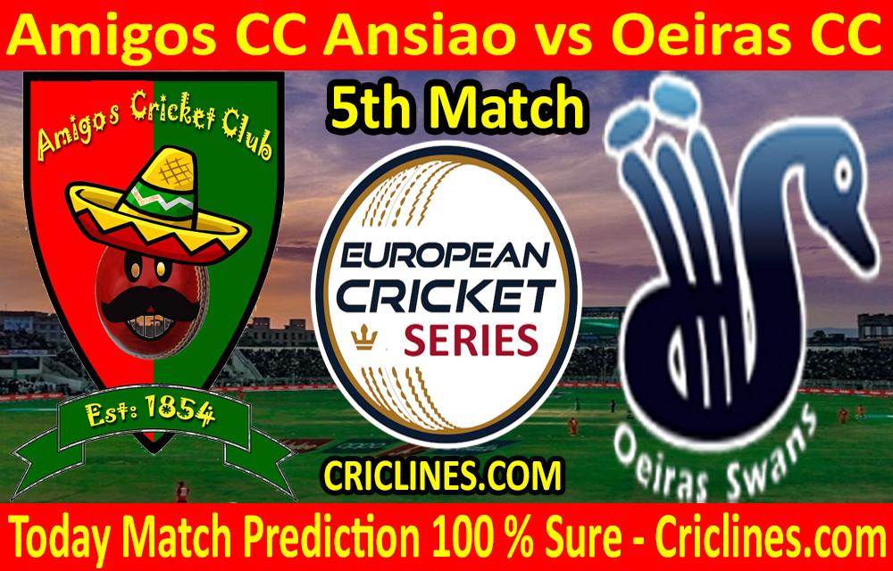 Today Match Prediction-Amigos CC Ansiao vs Oeiras CC-ECS T10 Cartaxo Series-5th Match-Who Will Win