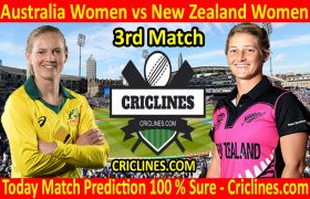 Today Match Prediction-Australia Women vs New Zealand Women-3rd T20 2020-Who Will Win