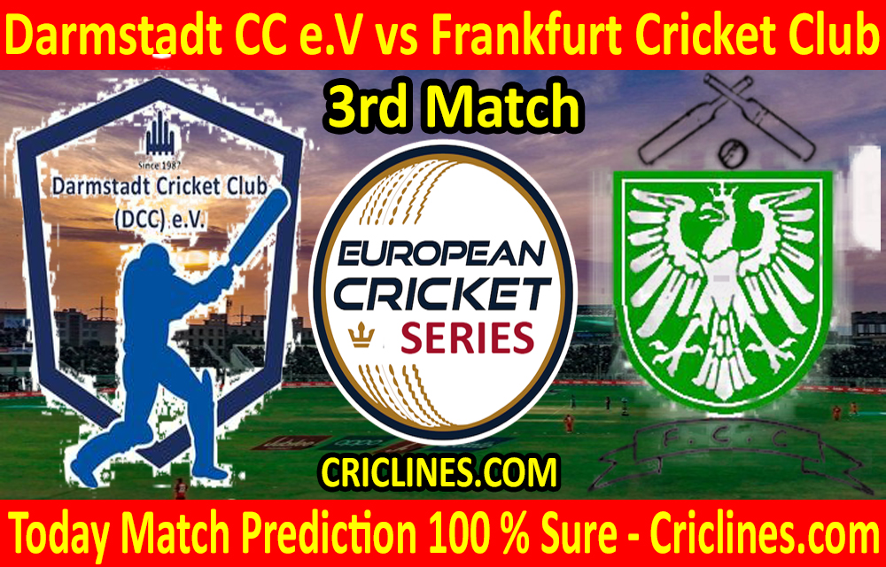 Today Match Prediction-Darmstadt CC e.V vs Frankfurt Cricket Club-ECS T10 Frankfurt Series-3rd Match-Who Will Win