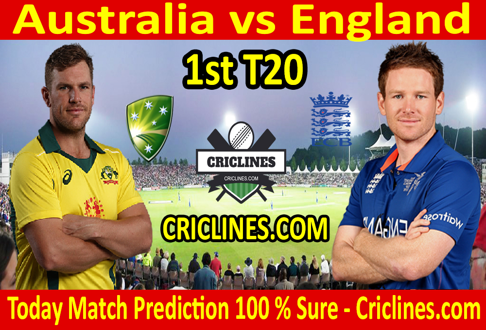 Today Match Prediction-England vs Australia-1st T20 2020-Who Will Win