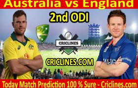 Today Match Prediction-England vs Australia-2nd ODI 2020-Who Will Win