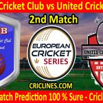 Today Match Prediction-Indian Cricket Club vs United Cricket Club-ECS T10 Romania Series-2nd Match-Who Will Win