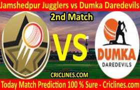 Today Match Prediction-Jamshedpur Jugglers vs Dumka Daredevils-Jharkhand T20 League-JSCA-2nd Match-Who Will Win