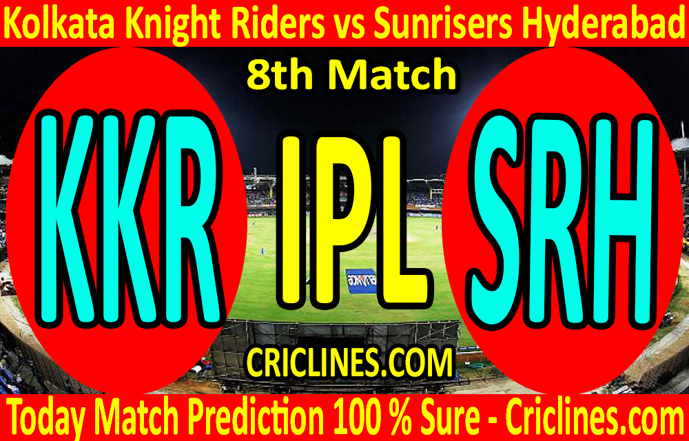 Today Match Prediction-Kolkata Knight Riders vs Sunrisers Hyderabad-IPL T20 2020-8th Match-Who Will Win