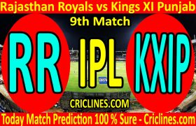Today Match Prediction-Rajasthan Royals vs Kings XI Punjab-IPL T20 2020-9th Match-Who Will Win