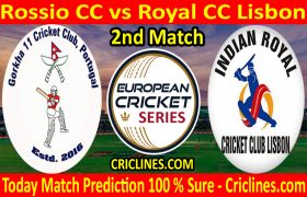 Today Match Prediction-Rossio CC vs Royal CC Lisbon-ECS T10 Cartaxo Series-2nd Match-Who Will Win