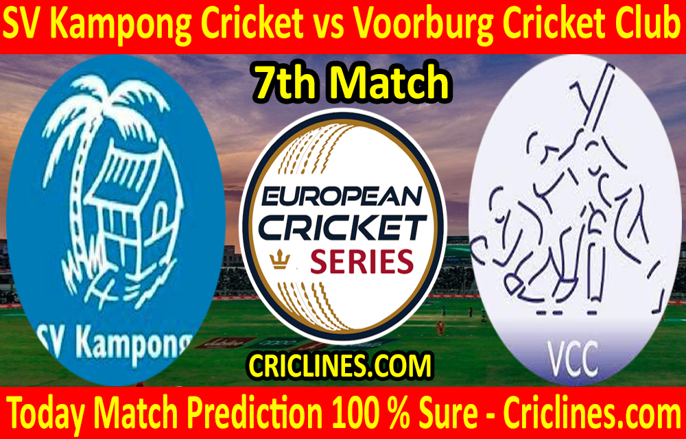 Today Match Prediction-SV Kampong Cricket vs Voorburg Cricket Club-ECS T10 Capelle Series-7th Match-Who Will Win
