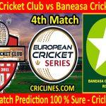 Today Match Prediction-United Cricket Club vs Baneasa Cricket Club-ECS T10 Romania Series-4th Match-Who Will Win