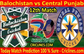 Today Match Prediction-Balochistan vs Central Punjab-T20 Cup 2020-12th Match-Who Will Win
