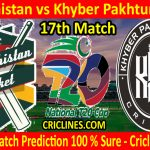Today Match Prediction-Balochistan vs Khyber Pakhtunkhwa-T20 Cup 2020-17th Match-Who Will Win