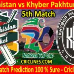 Today Match Prediction-Balochistan vs Khyber Pakhtunkhwa-T20 Cup 2020-5th Match-Who Will Win