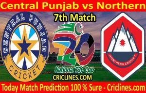 Today Match Prediction-Central Punjab vs Northern-T20 Cup 2020-7th Match-Who Will Win