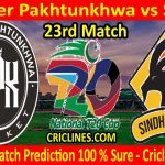 Today Match Prediction-Khyber Pakhtunkhwa vs Sindh-T20 Cup 2020-23rd Match-Who Will Win