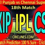 Today Match Prediction-Kings XI Punjab vs Chennai Super Kings-IPL T20 2020-18th Match-Who Will Win