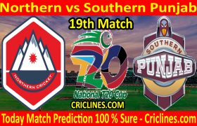 Today Match Prediction-Northern vs Southern Punjab-T20 Cup 2020-19th Match-Who Will Win