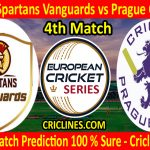 Today Match Prediction-Prague Spartans Vanguards vs Prague CC Kings-ECS T10 Prague Series-4th Match-Who Will Win