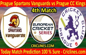 Today Match Prediction-Prague Spartans Vanguards vs Prague CC Kings-ECS T10 Prague Series-4th Match-Who Will Win