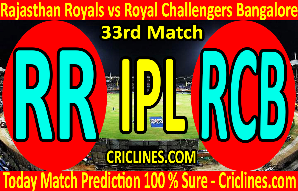 Today Match Prediction-Rajasthan Royals vs Royal Challengers Bangalore-IPL T20 2020-33rd Match-Who Will Win
