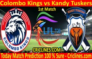 Today Match Prediction-Colombo Kings vs Kandy Tuskers-LPL T20 2020-1st Match-Who Will Win