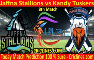 Today Match Prediction-Jaffna Stallions vs Kandy Tuskers-LPL T20 2020-8th Match-Who Will Win