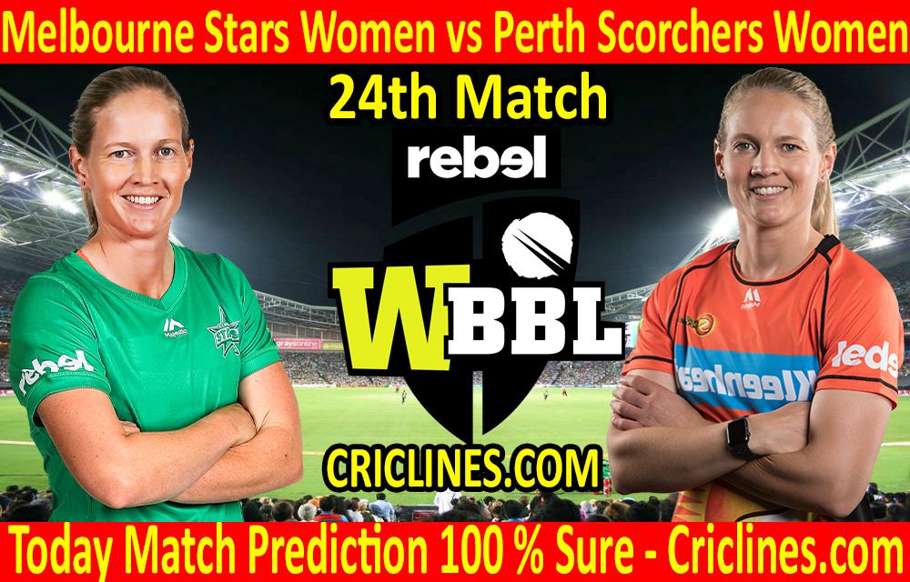 Today Match Prediction-Melbourne Stars Women vs Perth Scorchers Women-WBBL T20 2020-24th Match-Who Will Win