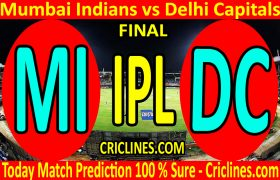 Today Match Prediction-Mumbai Indians vs Delhi Capitals-IPL T20 2020-Final-Who Will Win
