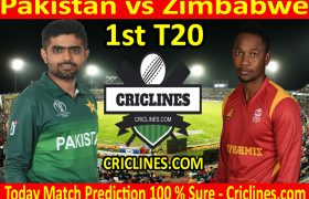 Today Match Prediction-Pakistan vs Zimbabwe-1st T20-Who Will Win