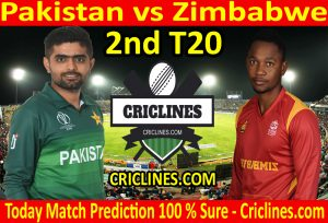 Today Match Prediction-Pakistan vs Zimbabwe-2nd T20-Who Will Win