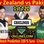 Today Match Prediction-New Zealand vs Pakistan-1st T20-Who Will Win