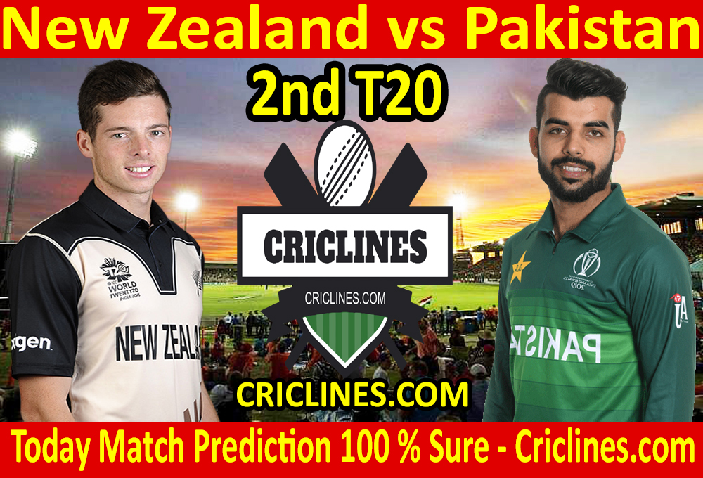 Today Match Prediction-New Zealand vs Pakistan-2nd T20-Who Will Win