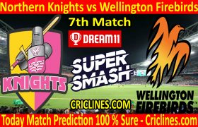 Today Match Prediction-Northern Knights vs Wellington Firebirds-Super Smash T20 2020-21-7th Match-Who Will Win