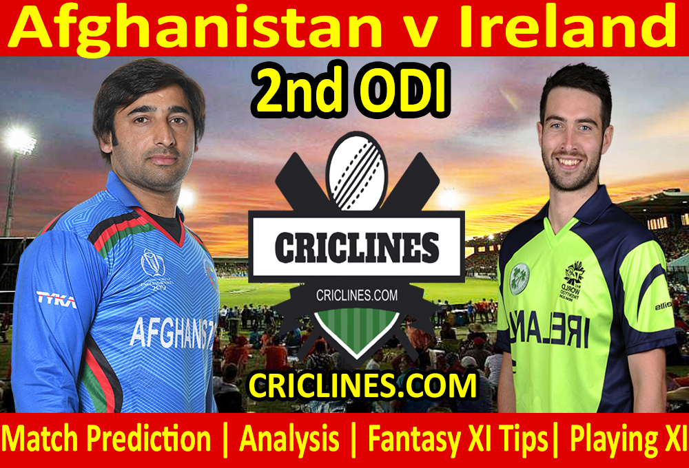 Today Match Prediction-Afghanistan v Ireland-1st ODI 2021-Who Will Win