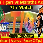 Today Match Prediction-Bangla Tigers vs Maratha Arabians-T10 League-7th Match-Who Will Win