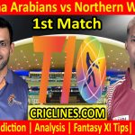 Today Match Prediction-Maratha Arabians vs Northern Warriors-T10 League-1st Match-Who Will Win