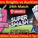 Today Match Prediction-Northern Knights vs Auckland Aces-Super Smash T20 2020-21-24th Match-Who Will Win