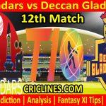 Today Match Prediction-Qalandars vs Deccan Gladiators-T10 League-12th Match-Who Will Win