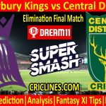 Today Match Prediction-Canterbury Kings vs Central Districts-Super Smash T20 2020-21-Elimination Final-Who Will Win